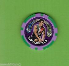 #T53. 2009 AFL CHIPZ TAZO, RYAN CROWLEY, FREEMANTLE DOCKERS
