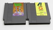 NES Bugs Bunny Birthday Blowout & Low G Man TESTED Good Cond. FAST SHIP Nintendo