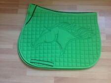 Colorful English Saddle Pad | All-Purpose |small horse/ Pony /Green
