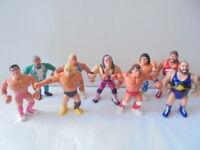 WWF Hasbro Titan Sports Sammlung Konvolut WWE Wrestling aussuchen choose (4)