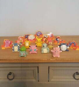 9x Pokemon Roller Ball Sliders Figures 1999/ 2000 Vintage Toys Nintendo Oddzon