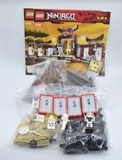 LEGO Set 2504 Ninjago Spinjitzu Trainingszentrum mit BA Spinjitzu Dojo w. instr.