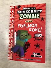 DIARY OF A MINECRAFT ZOMBIE BOOK 12 PIXELMON GONE,NEW CHEAPEST ,KIDS CHILDREN 1