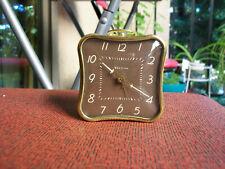 Vintage Westclox 'La Sallita' Ivory Luminous Alarm Clock - Nice - Description!
