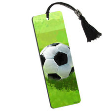 Soccer Ball Printed Bookmark with Tassel