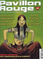 PAVILLON ROUGE N°20. Février 2003.