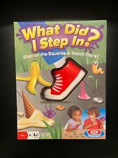 """Kids Matching Memory Card Game. """"What Did I Step In?"""" Ages 4+"""