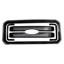 11-16 Ford F250 F350 F450 F550 Super Duty Black Mesh Grille 8 pc Kit