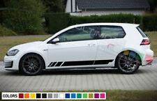Pegatina para coche con el texto /«GTI/» estilo met/álico para la rejilla delantera de Volkswagen