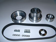 Mazda Rotary Multi Rib pulley Kit 12a,13b early , rx2,rx3.rx7, Australian.made