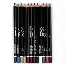 Waterproof Eyebrow Pen Eye Liner Cosmetics 12 Colors Eye Make Up Eyeliner Pencil