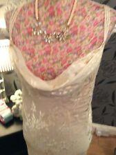 """Monsoon Acapulco Sharif Silk Long 60"""" Dress Size 22 VGc  Hols 9 May-16 June"""
