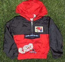 Vintage 1999 Pokémon Windbreaker Jacket Toddler Geodude 90s Size Boys Small