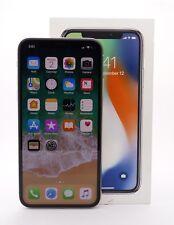 Apple iPhone X 256GB Silver Sprint Smartphone MQCW2LL/A Bad ESN/IMEI (Financed)