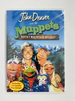 NEW SEALED John Denver and the Muppets Rocky Mountain Holiday DVD, 2003