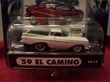 Funline Muscle Machines 1959 Chevrolet El Camino 1/64 scale NIB 2002 white