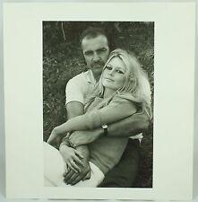 Legends Terry O'Neill Sean Connery Brigitte Bardot Celebrity Photo Print Poster