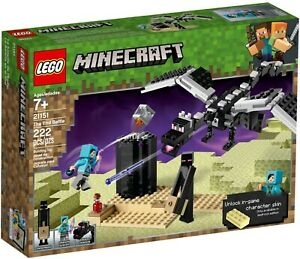 LEGO 21151 Minecraft The End Battle - Brand New (Free Shipping)