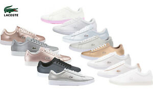 Womens Lacoste Shoes Carnaby Fashion Sneakers - Pick Color & Size NEW