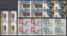 kavel blokjes van 4 zegels 1987 (1) postfris (MNH)