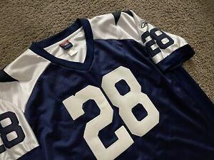 VINTAGE DALLAS COWBOYS FOOTBALL JULIUS JONES XL 54 STITCHED REEBOK NFL