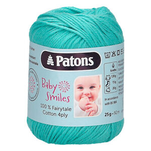Patons Fairytale Cotton 4ply - 25g balls - 4ply Knitting Yarn *SALE RRP £3.15!*