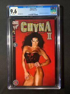 Chyna II #1 CGC 9.6 (2001) - Joan Marie 'Chyna' Laurer photo cover - WWF