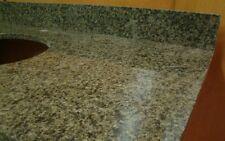 """31"""" Bathroom Vanity Sink Base Cabinet Green Granite Top Single Handle Faucet"""