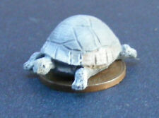 1:12 Scale Grey Resin Tortoise Dolls House Miniature Garden Pet Accessory