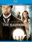 The Illusionist (Blu-ray/DVD, 2010, 2-Disc Set, WS)