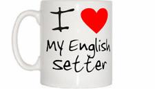 I Love Heart My English Setter Mug