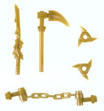 LEGO Ninjago Golden Dragon Sword weapon pack