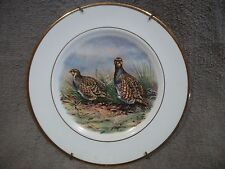 Vintage Pall Mall Ware England Porcelain Bone China Decorative Grouse Plate