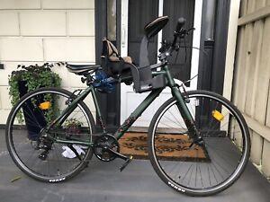 Orbea Carpe 50 2018 Hybrid Bike - Green/Red