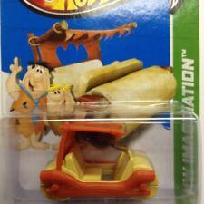 NEW Hot Wheels The Flintstones Flintmobile 2013 No 70 Orange Genuine Sealed