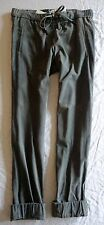 NWT $2.6K BRUNELLO CUCINELLI SUEDE LEATHER RELAXED FIT TROUSERS PANTS (OMG!) 6