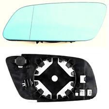 Spiegelglas Außenspiegel Links Heizbar Asphärisch Blau AUDI A3 A6 A8