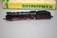 Minitrix 12001 Dampflok Baureihe 41 222 DB Spur N OVP