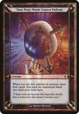 Your Puny Minds Cannot Fathom Archenemy PLD Common MAGIC MTG CARD ABUGames