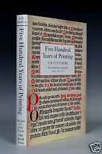 Five Hundred Years Of Printing. S.H. Steinberg. Oak Knoll Press /British Library