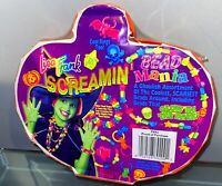 Lisa Frank Halloween BEAD MANIA NEW SEALED! ORANGE 1990s Beads