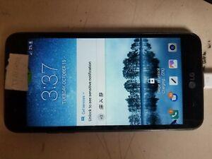 LG Rebel 16gb LGL157BL Black (TracFone) Smartphone NOT WORKING