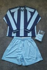 MegZ Football Sports Sigma Shirt V Neck Top Sports Full Kit Size 14-16 years NEW