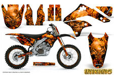 KAWASAKI KXF450 KX450F 06-08 GRAPHICS KIT DECALS INFERNO INFBNR