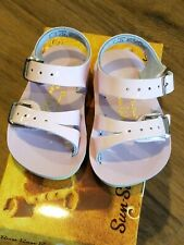 New Sun-San Salt Water Sandals,water safe Sea Wee style, pink infant 2,NWT