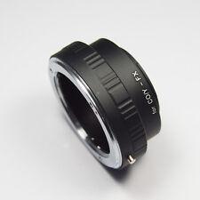 NUOVO Adattatore di montaggio per Contax/Yoshica C/Y lente per FUJIFILM X FOTOCAMERE DIGITALI