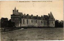 CPA  Mauson (Morbihan) Cháteau du Bois de la Roche (coté Nord)   (209942)