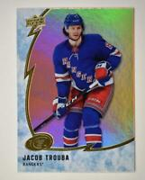 2019-20 ICE Orange Parallel #37 Jacob Trouba - New York Rangers