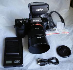 Sony Alpha A7 24.2MP full frame Digital Camera + 28-70 mm Lens
