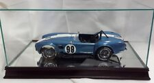 1:12 Scale Glass and Wood Mirrored Display Case for Scale Model Cars MM1212